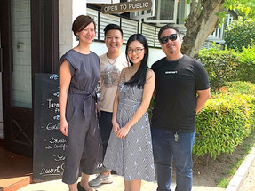 Thriving in the rural part of Singapore: Focusing on menu inspiration