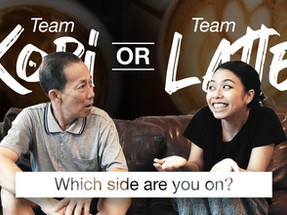 Latte or Kopi - Which side are you on?