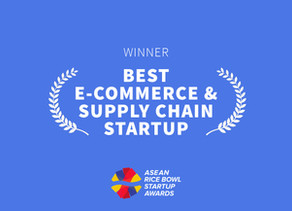 Best E-commerce Startup of Singapore Rice Bowl Startup Awards 2019