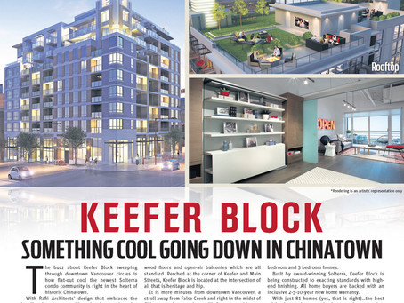 Keefer Block - Something Cool Going Down in Chinatown