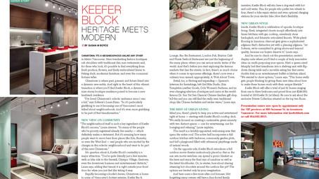 Keefer Block - Heritage Meets Modern
