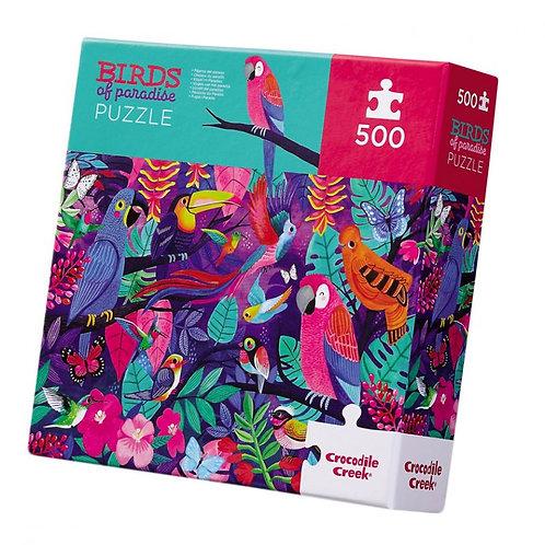 Puzzle Oiseaux de Paradis 500 pièces