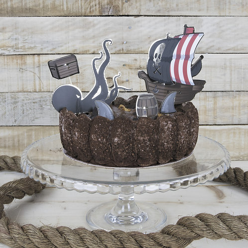 Cake toppers Pirates