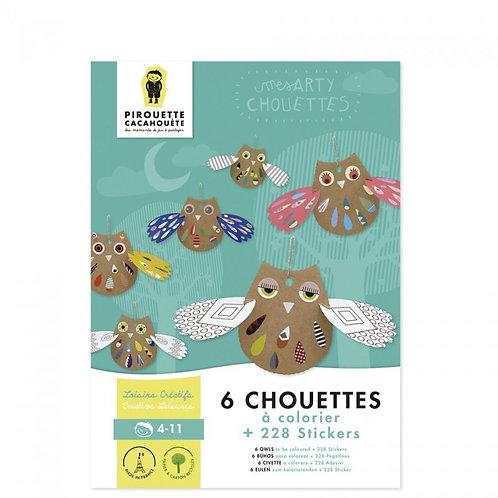 Kit créatif Les Arty Chouettes