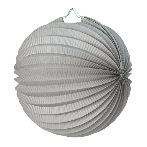 Lampion Gris 30 cm