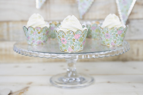 Cupcake Wrappers Liberty X6