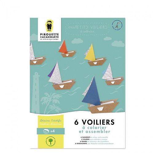 Kit créatif Les Voiliers