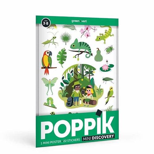 Poppik - Mini poster Jungle