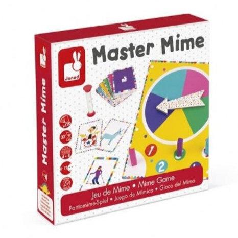 """Jeu d'ambiance """"Master Mime"""""""