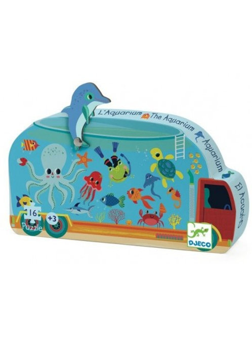 Puzzle Aquarium 16 pièces