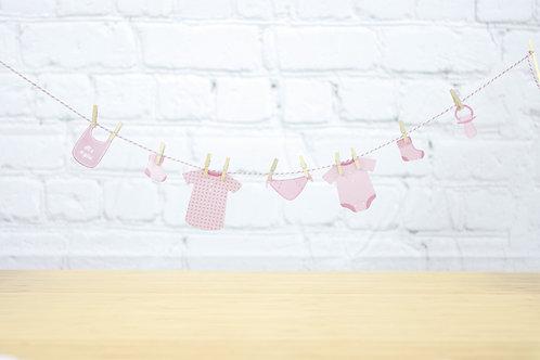 Guirlande Baby Pink