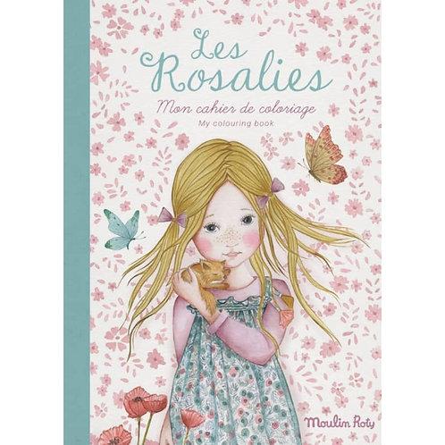 Cahier de coloriage Les Rosalies