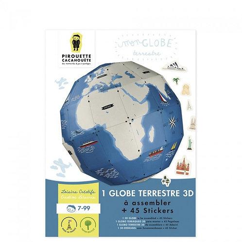 Kit créatif Globe Terrestre 3D
