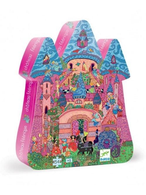 Puzzle Le Château féerique  54 pièces