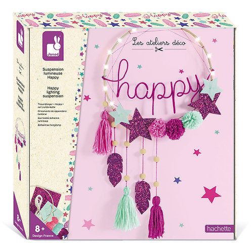 Couronne lumineuse Happy