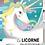 Thumbnail: Puzzle et livre Licorne 100 pièces