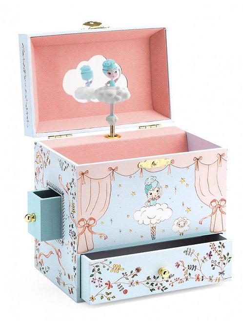 Boîte à bijoux musicale Ballerine