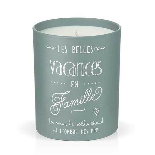 Bougie parfumée Belles vacances
