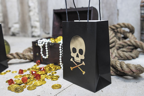 Sacs cadeaux Pirates X4