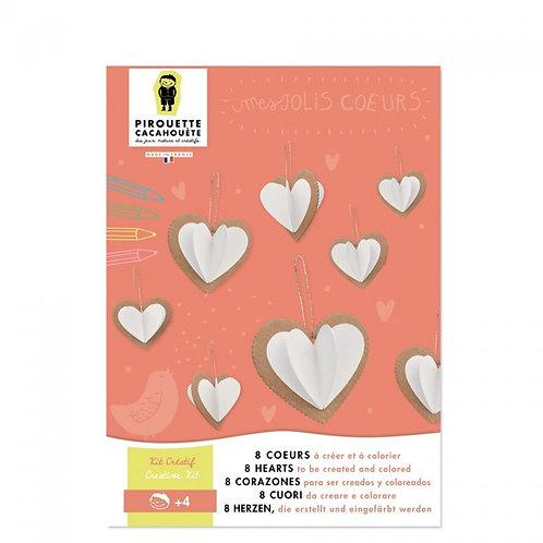Kit créatif Les Coeurs
