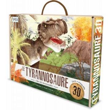 Maquette 3D et son livre Tyrannosaure