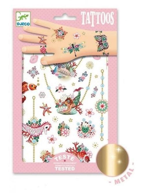 Tatouages glitter Bijoux de Fiona