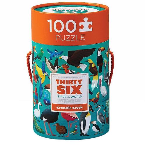 Puzzle Oiseaux du Monde 100 pièces