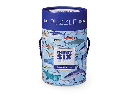 Puzzle Requins 100 pièces