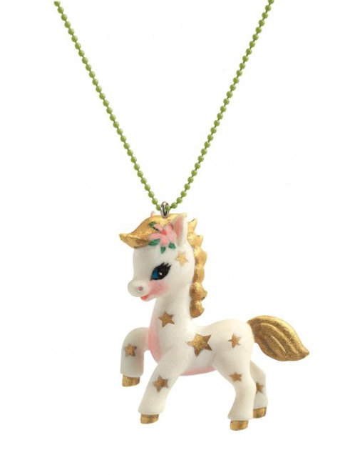 Collier Lovely Charm Licorne