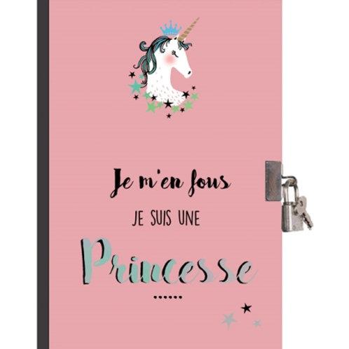 Journal intime Je suis une Princesse