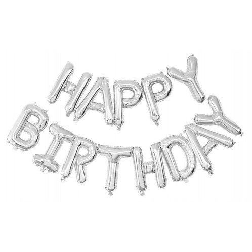 Guirlande de Ballons Happy Birthday