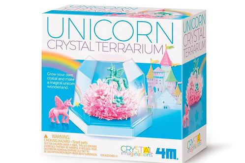 Terrarium cristaux et licornes