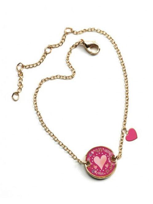 Lovely Bracelet Coeur