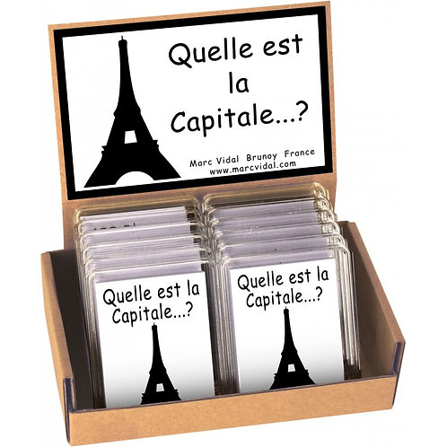 Jeu Quelle est la Capitale ?