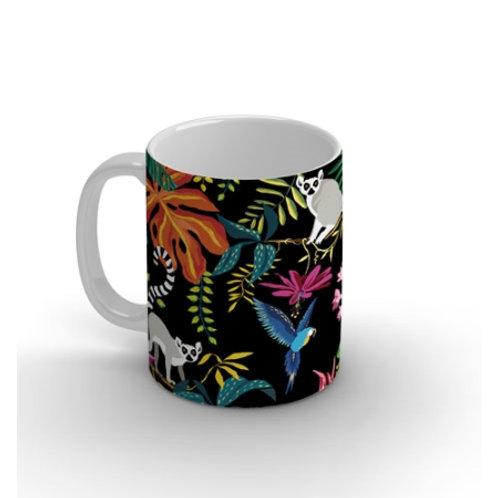 """Joli mug """"Lémuriens"""""""