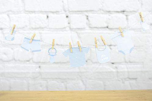 Guirlande Baby Blue