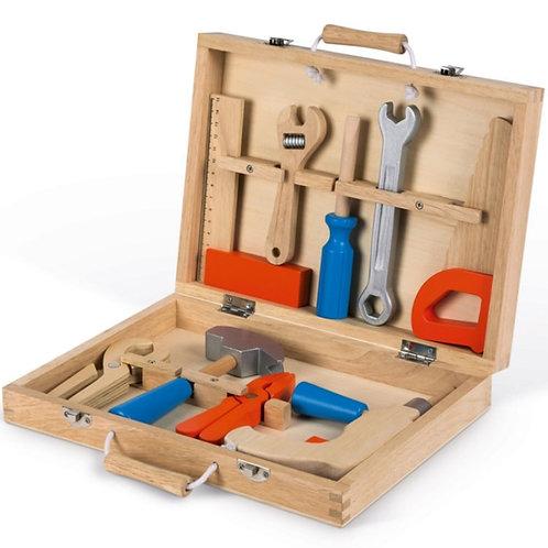 Boîte à outils en bois Brico'kids