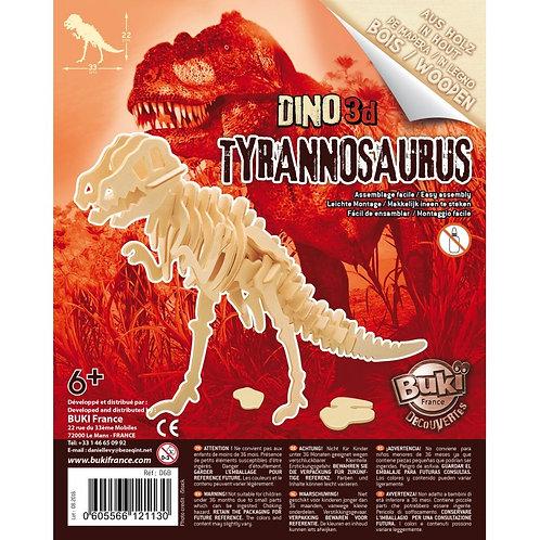 Maquette dinosaure bois