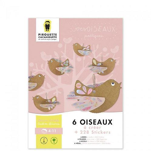 Kit créatif Les Oiseaux