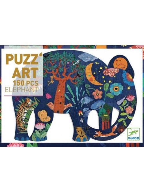 Puzzle Puzz'Art Eléphant 150 pièces