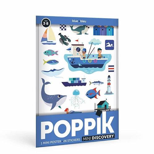 Poppik - Mini poster Mer