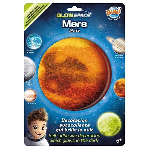 Déco phosphorescente Mars