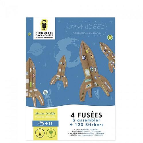 Kit créatif Les Fusées