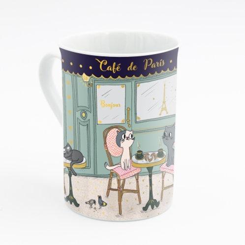 "Joli mug ""Chats à Paris"""