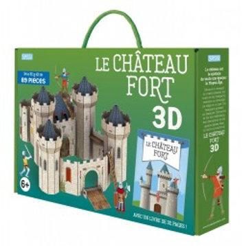 Maquette 3D et son livre Château Fort