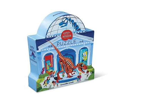 Puzzle Musée des dinos 48 pièces