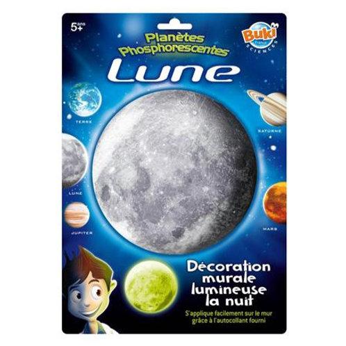 Déco phosphorescente Lune