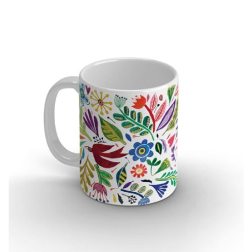 "Joli mug ""Fleurs Arty"""