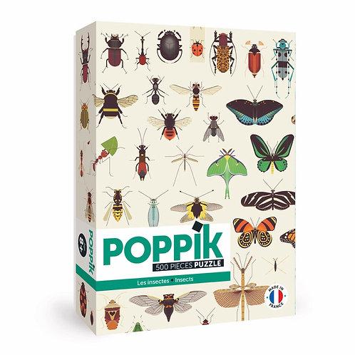 Puzzle éducatif Insectes 500 pièces