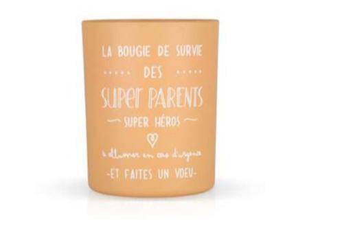 Bougie parfumée des supers parents